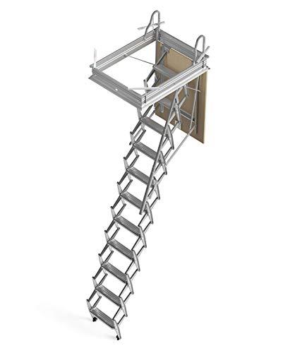 Mister Step Escalera escamoteable para buhardillas ADJ H= 251÷275 cm. (120 x 60 cm.)