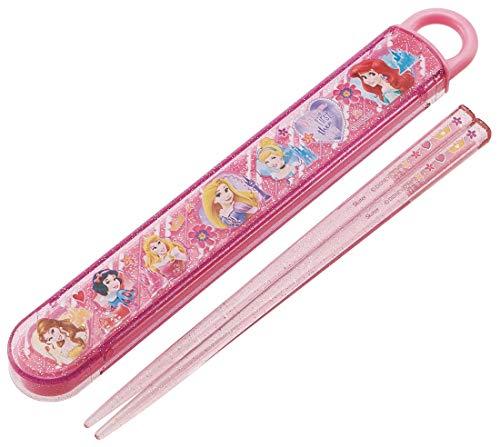 2019 Skater for Children Chopsticks Chopstick Case Set Princess Disney Made in Japan ABS2AM