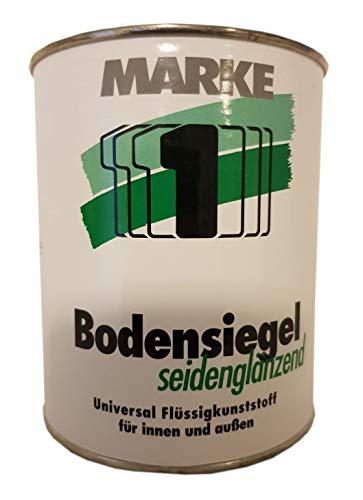 Marke 1 Bodensiegel Seidenglänzend Lösemittelhaltig Ral 7030 Steingrau 0,75 Liter