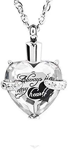 Always In My Heart 12 Necklace Urn Birthstone Ranking integrated 1st place Cremation Max 40% OFF Jewelry
