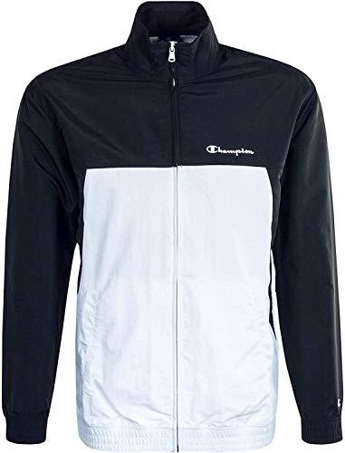 Champion 214238 bluza z zamkiem błyskawicznym KK001 czarno-biała XXL