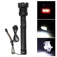調光可能な懐中電灯、懐中電灯 家庭用の強力な長距離照明 屋外用の投光用スポット ライト