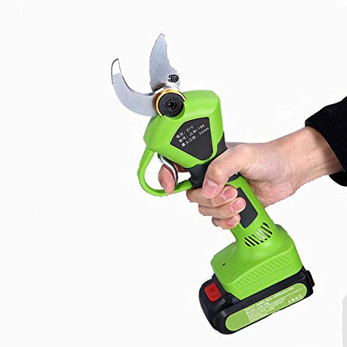 Check Out This CKAN Electric Pruning Shears,Lithium Battery Rechargeable Wireless Electric Scissors ...