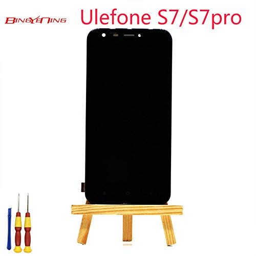 AiBaoQi For Ulefone S7/S7 Pro Touch Screen + LCD Display+Frame ...