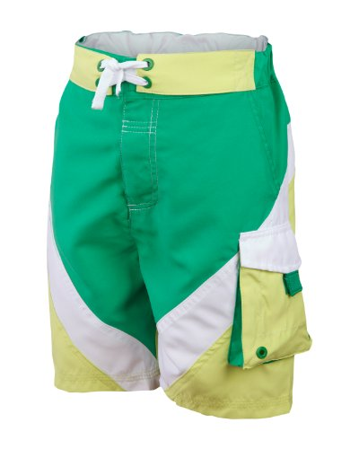 Bench Jungen Badehose Boardshorts Balcombe grün (simply green) 140