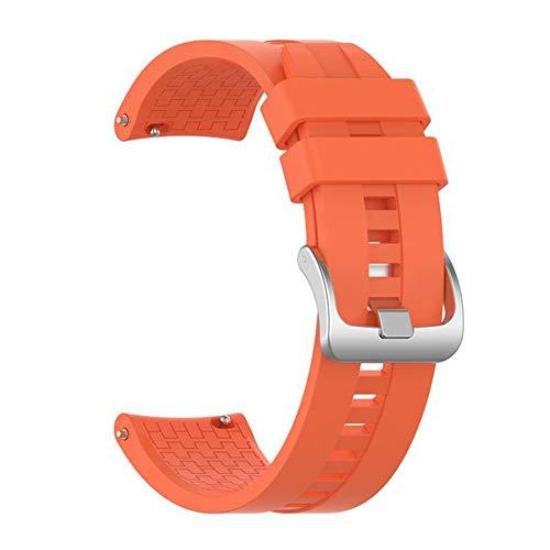 N / E Correa de reloj de pulsera para Huawei Watch GT2 46mm Correas de repuesto Deportivas Bandas de silicona Accesorios de reloj
