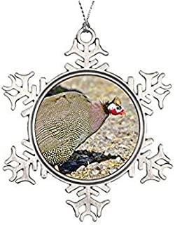 guinea fowl ornaments
