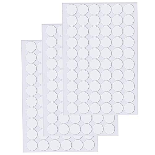 210 Pieces Clear Sticky Adhesive Putty Removable Round Putty,Reusable Transparent Double-Sided Nano Gel Mat for Christmas Wall,Plastic,Metal,Glass,Ceramic,Wood