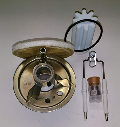 Buderus Mischsystem komplett Set 1.3HP BRE 1.3-35 kW geeignet für schwefelarmes Heizöl mit Anleitung