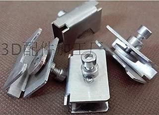 AiCheaX - 10pcs Reprap 3D Printer Accessories Heated Bed Glass clamp Clip