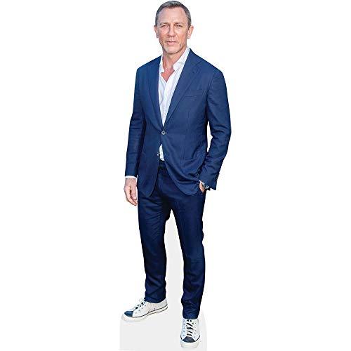 Celebrity Cutouts Daniel Craig (Blue Suit) Pappaufsteller Mini