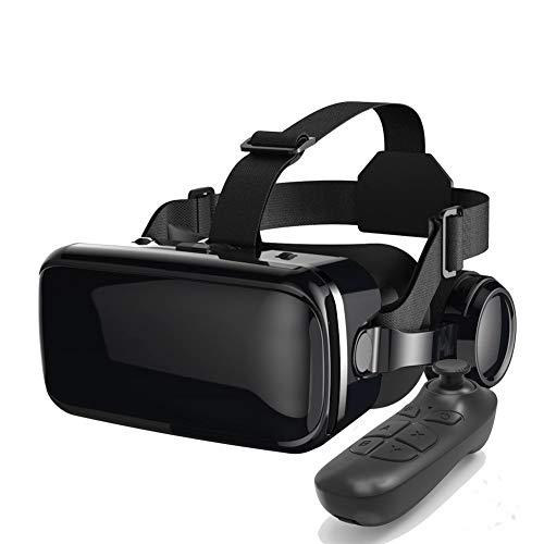 3D VR Brille,Videospiel Brille Virtuelle,HD Virtual Reality, Anti Blu-ray-Linse,für 3D Film und Spiele Geeignet 5-7 Zoll Smartphone Handy