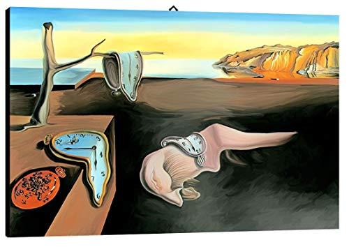 Bild intelaiato Pronto da appendere Dalì 01 cm 70x100 Druck auf Leinwand das gemälde ist fertig zum aufhängen
