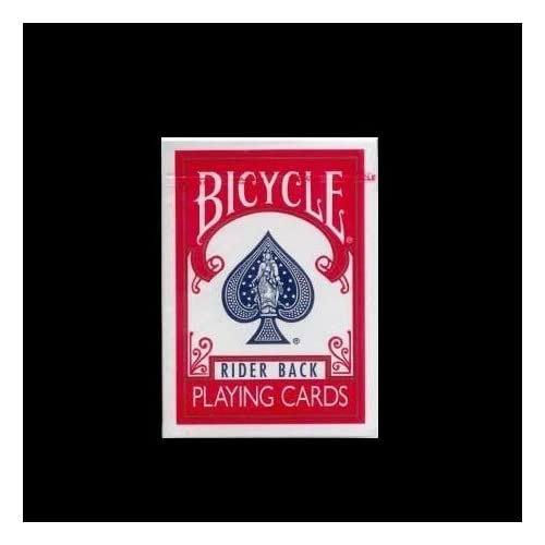 Carte di bicycle - carte da poker - bicycle carte rider dorso rosso