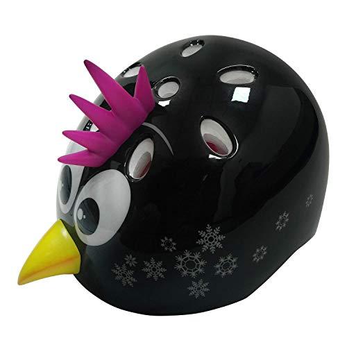 TuffNutZ 'Little Punky Penguin' Kids Character Safety Helmet
