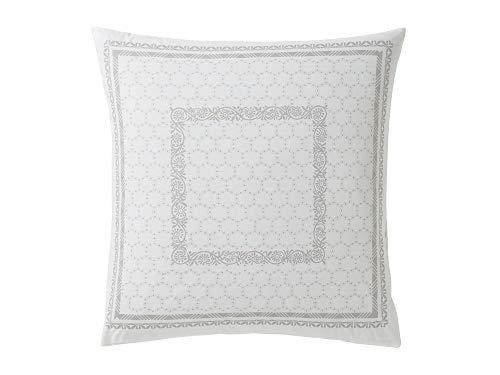 ESSIX Legende Taie d'oreiller, Cotton, Argent, 50 X 70cm