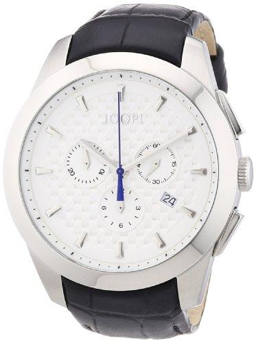 Joop Herren-Armbanduhr XL Legend Chrono Chronograph Quarz Leder JP101071F05