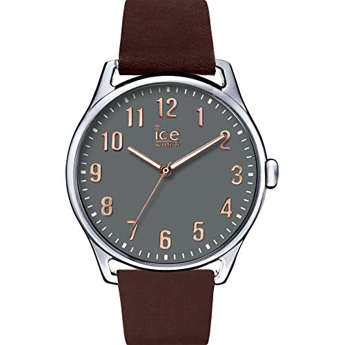 Ice-Watch Herren Analog Quarz Uhr mit Leder Armband 8431242952857