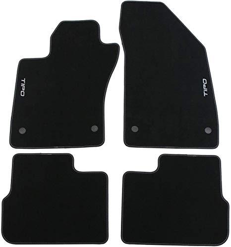 FCA TAPPETINI in Moquette per Tipo 4 Porte Anteriori POSTERI Originali 50927902