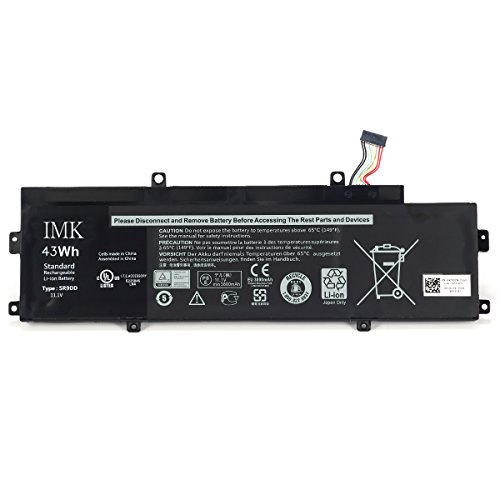IMK replacement battery for 11.1V 43Wh 5R9DD Built-in Battery for Dell Chromebook 11 (3120) P22T Series Laptop KTCCN 0KTCCN XKPD0 P22T001