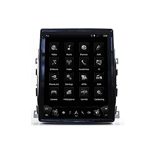 FDGBCF Nav 10.4 '' Receptor de Radio con Reproductor estéreo Bluetooth en el Tablero para automóvil - Compatible con Porsche Panamera 2011-2016, navegación GPS Doble DIN Am FM al Media