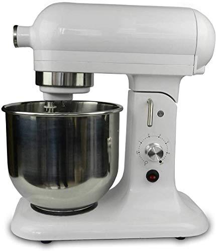 Máquina mezcladora de procesador de alimentos para el hogar Máquina amasadora 500 W Sistema de mezcla planetaria de 7 litros Sistema de sujeción rápida de tazón de acero inoxidable de 7 etapas Sistema de sujeción rápida Fundición a presión y gancho de masa Multifunción