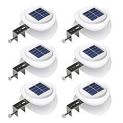 cheap DBF Outdoor Solar Garter Light[Improved Edition]Solar Fence Pillar Light Wall Bracket Decoration …