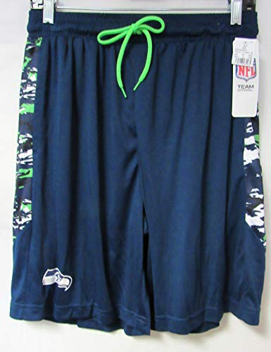 A-Team Apparel Seattle Seahawks Mens Size 2X-Large Camo Accent Shorts S1 102 2XL