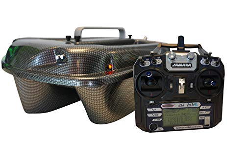 Carp Madness Phantom fodera Boot 2,4 gHz Carbon Bait Boat con TF500 ecoscandaglio