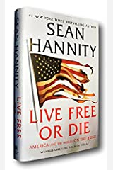 Rare SIGNED Sean Hannity Live Free or Die 2020 First Edition 1st HCDJ Autographed Hardcover