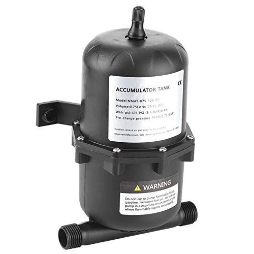 Tanque acumulador, negro, a prueba de polvo, tanque de agua presurizada que ahorra energía,...