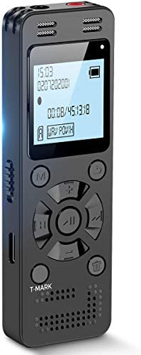 32GB Digital Voice Recorder for Lectures Meetings EVIDA 2324 Hours Voice Activated Recording product image