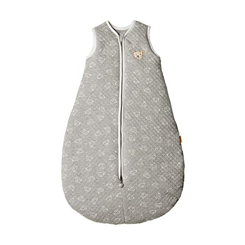 Steiff Sleeping Bag Gigoteuse, Gris (Quarry 9007), 74/80 (Taille Fabricant: 70) Mixte bébé