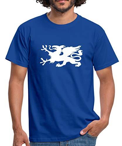 Hansestadt Rostock HRO Stadtwappen Männer T-Shirt, M, Royalblau