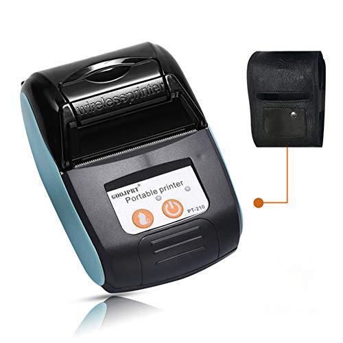 HZHHH Impresora, Portátil Impresora Térmica De Recibos