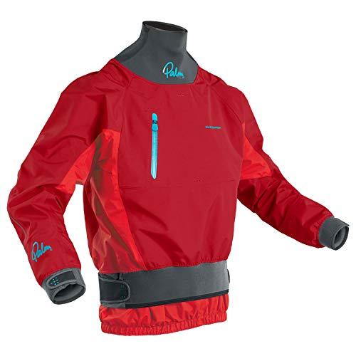 Palm Kayak ou Kayaking - Manteau de Veste de Kayak en Eau vive pour Hommes Atom Chilli Flame - Tissu XP à 3 Couches - Coupe 4D