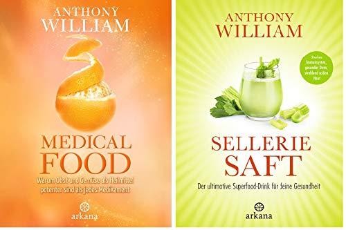 """Ernährung nach Anthony William-Set: """"Medical Food"""" + """"Selleriesaft"""""""