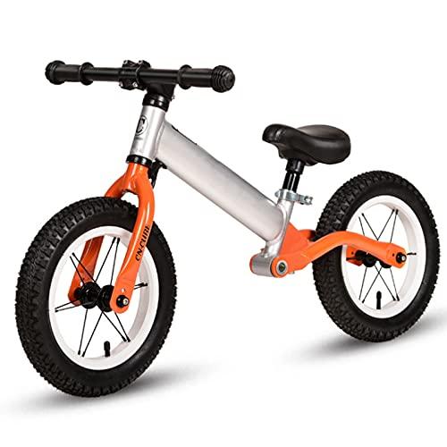Women's Health Bicicleta de Equilibrio, Bicicleta para Caminar, Bicicleta Sin Pedales, First Bike para Niños, Niños Pequeños Pedales Juguetes, Bicicletas Sin Pedales para Niños, 12 Pulgadas