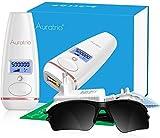 Auratrio T8 Essential IPL Epilateur à Lumière Pulsée 500.000 flashs, Hommes et Femmes, pour Corps/Visage/Bikini/Intime/Maillot/Aisselles, Mode flash continu et manuel