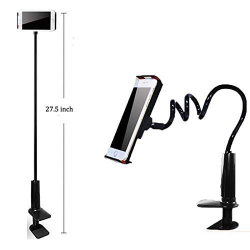 ShiningXX Supporto da tavolo con braccio flessibile a 360 gradi per iPhone, One Sams-ung Hua-iwei xia- omi iP- Ad