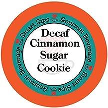 Smart Sips, Decaf Cinnamon Sugar Cookie Gourmet Coffee, 24 Count for Keurig K-cup Brewers