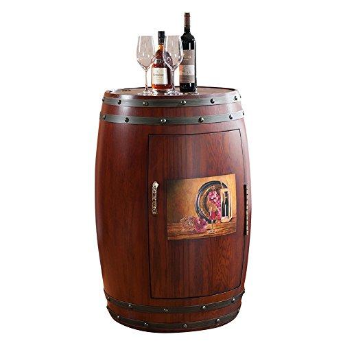 SITANG STG American ländlichen Massivholz Temperatur Barrel Möbel Schrank Fresh rot Wein Fächer Elektronische Wein Schrank konstante Temperatur Barrels barrelsmlg198–18A
