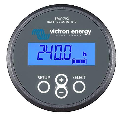 Victron Energy BAM010702000R Monitor BMV-702, Gris, De 6,5 a 95 Vdc. 2 baterías