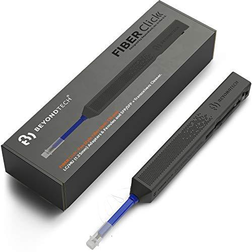 LC Glasfaser-Reinigungsstift, 1,25 mm, Blau, kompatibel mit LC-Faseranschlüssen & LC-SFP-Anschlüssen