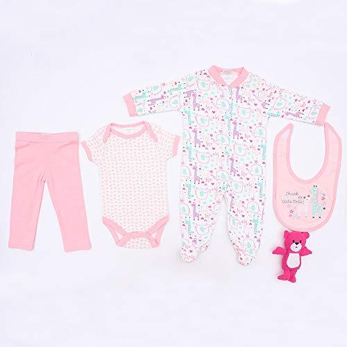 TERABITHIA 19 Ajusta a 50-55 CM Muñecas recién Nacidas Vestido Reborn Baby Doll Toda la Ropa de algodón