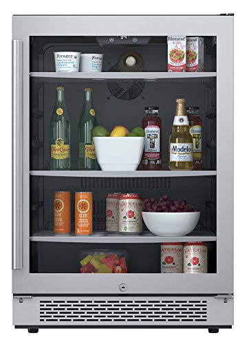 "Avallon ABR241SGRH 140 Can 24"" Built-In Beverage Cooler ..."