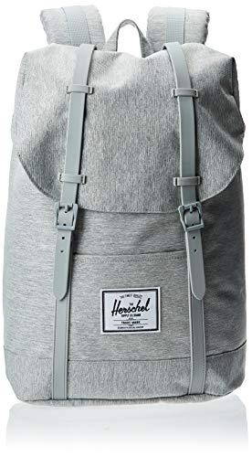 Herschel Pop Quiz Unisex Adult Backpack Handbags, grey/black (Black) - 10011-02998-OS