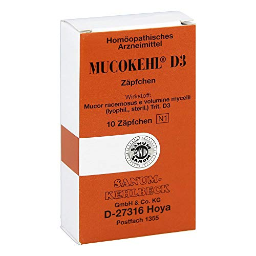 MUCOKEHL Suppositorien D 3 10 St