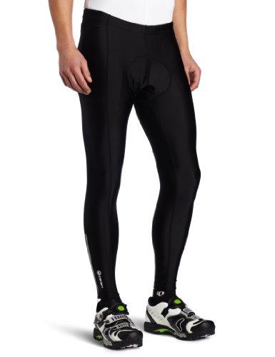 Canari Cyclewear Men's Pro Elite Gel Cycle Tights, Black, Large