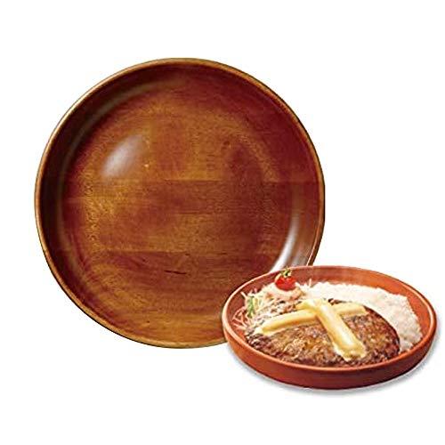 びっくりドンキー ディッシュ皿 直径約27cm 2枚セット 木皿 うちごはん